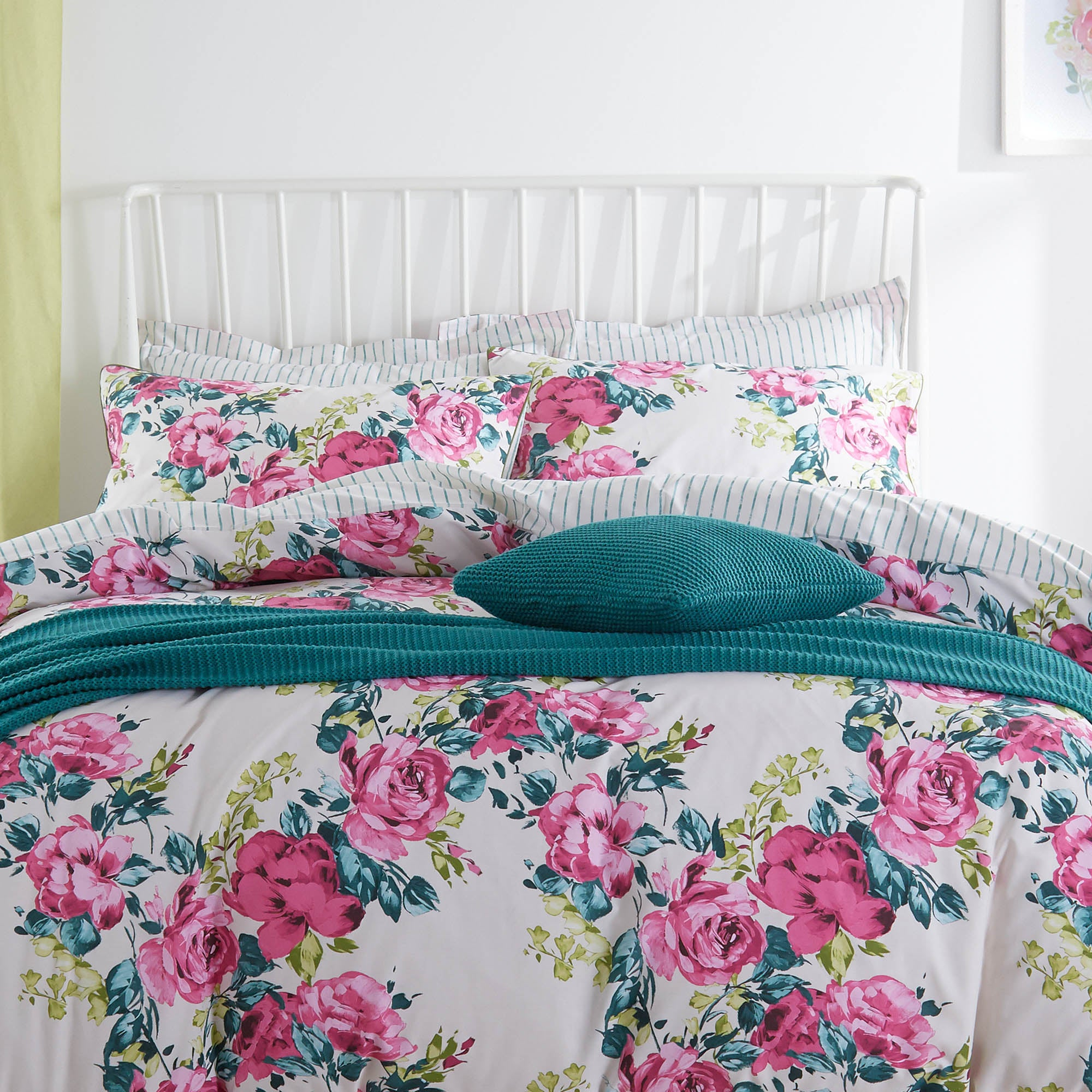Florrie Pink Bed Linen Collection