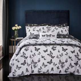 Isla Black Bed Linen Collection