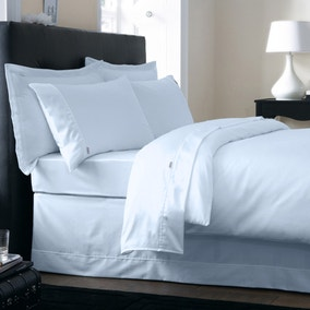 Dorma 350 Thread Count Cotton Satin Duck Egg Bed Linen Collection