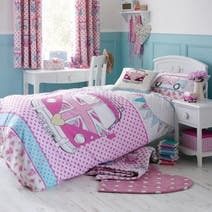 Kids Union Jack Camper Van Bed Linen Collection