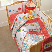 Loveable Letters Nursery Bed Linen Collection