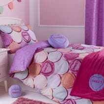Kids Sweetie Loveheart Bed Linen Collection