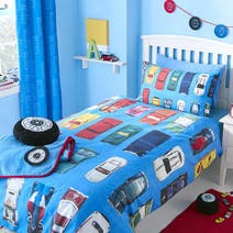Kids Wacky Wheels Bed Linen Collection