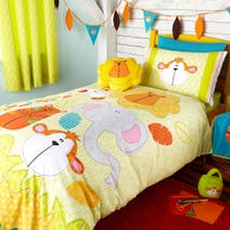 Kids Safari Friends Bed Linen Collection