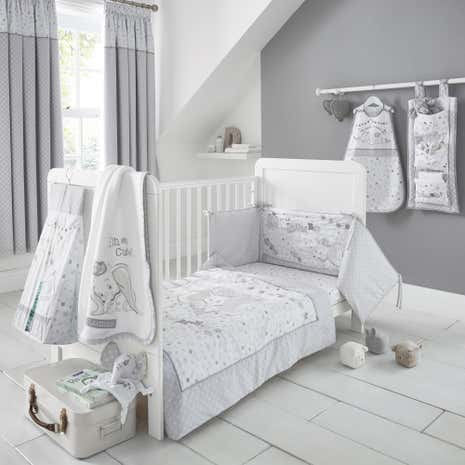 Disney Dumbo Nursery Bed Linen Collection Dunelm