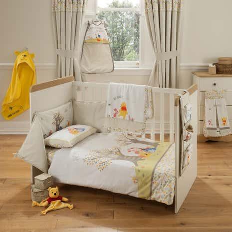 disney winnie the pooh nursery bed linen collection dunelm. Black Bedroom Furniture Sets. Home Design Ideas