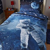 Space Navy Bed Linen Collection