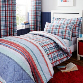 Textured Check Bed Linen Collection