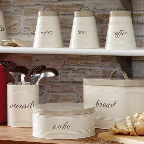 dunelm kitchen storage farmhouse kitchen canister collection dunelm 3483