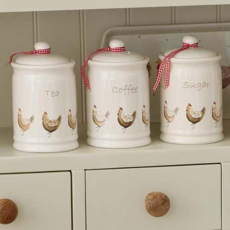 henrietta kitchen canister collection dunelm. Black Bedroom Furniture Sets. Home Design Ideas