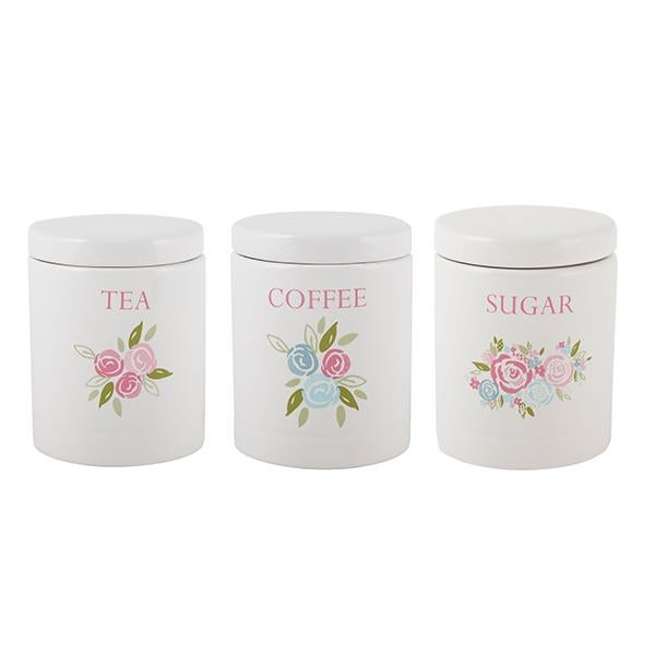 Candy Rose Kitchen Canister Collection