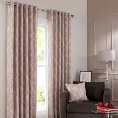 Natural Woodlands Curtain Collection Dunelm