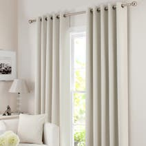 Natural Solar Blackout Eyelet Curtain Collection