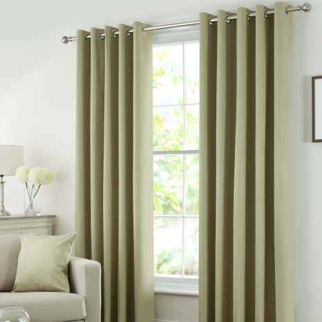 green solar blackout eyelet curtain collection dunelm. Black Bedroom Furniture Sets. Home Design Ideas