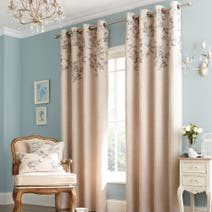 Duck Egg Emily Eyelet Curtain Collection