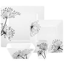Square Sprig Dinnerware Collection