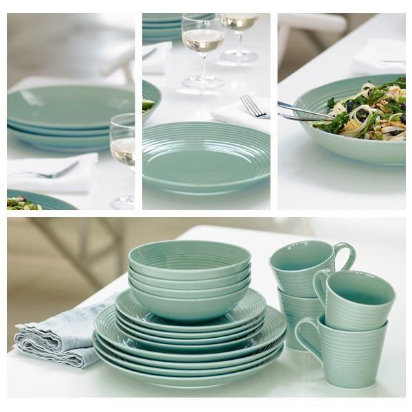 Gordon Ramsay Teal Maze Dinnerware Collection & Gordon Ramsay Teal Maze Dinnerware Collection | Dunelm
