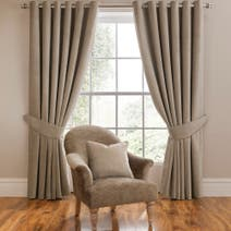 Dorma Mink Lymington Curtain Collection