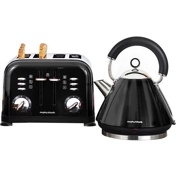 Morphy Richards Black Accents Collection