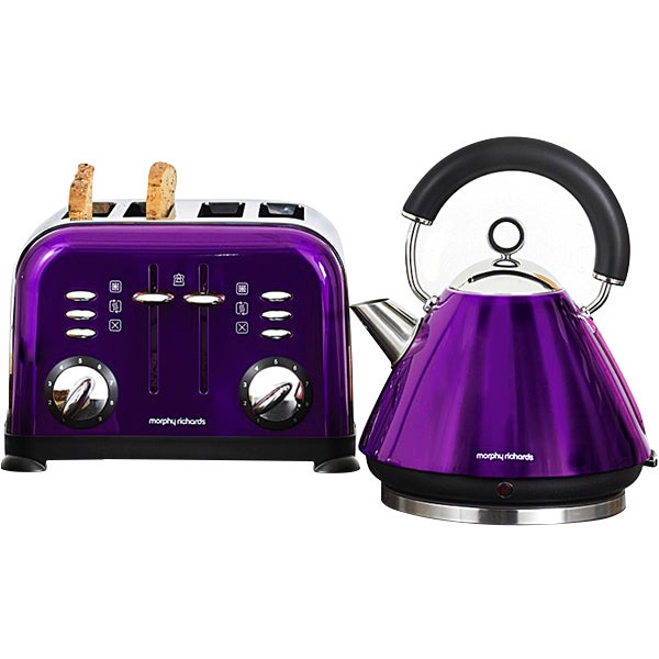 Morphy Richards Plum Accents Collection