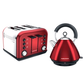 Morphy Richards Red Accents Collection