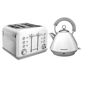 Morphy Richards White Accents Collection