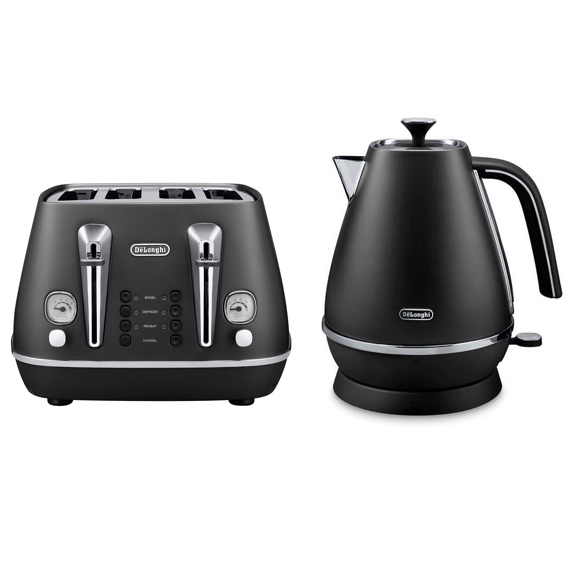 Delonghi Distinta Black Collection