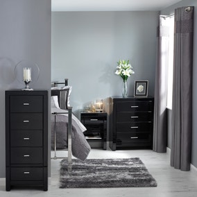 Venetian Black Bedroom Collection