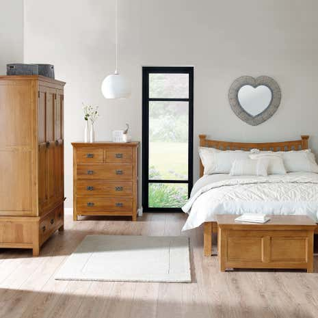 Dorchester Oak Bedroom Collection