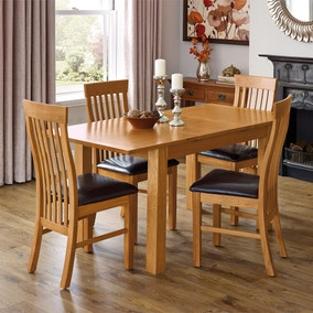 Dorchester Oak Dining Room Collection
