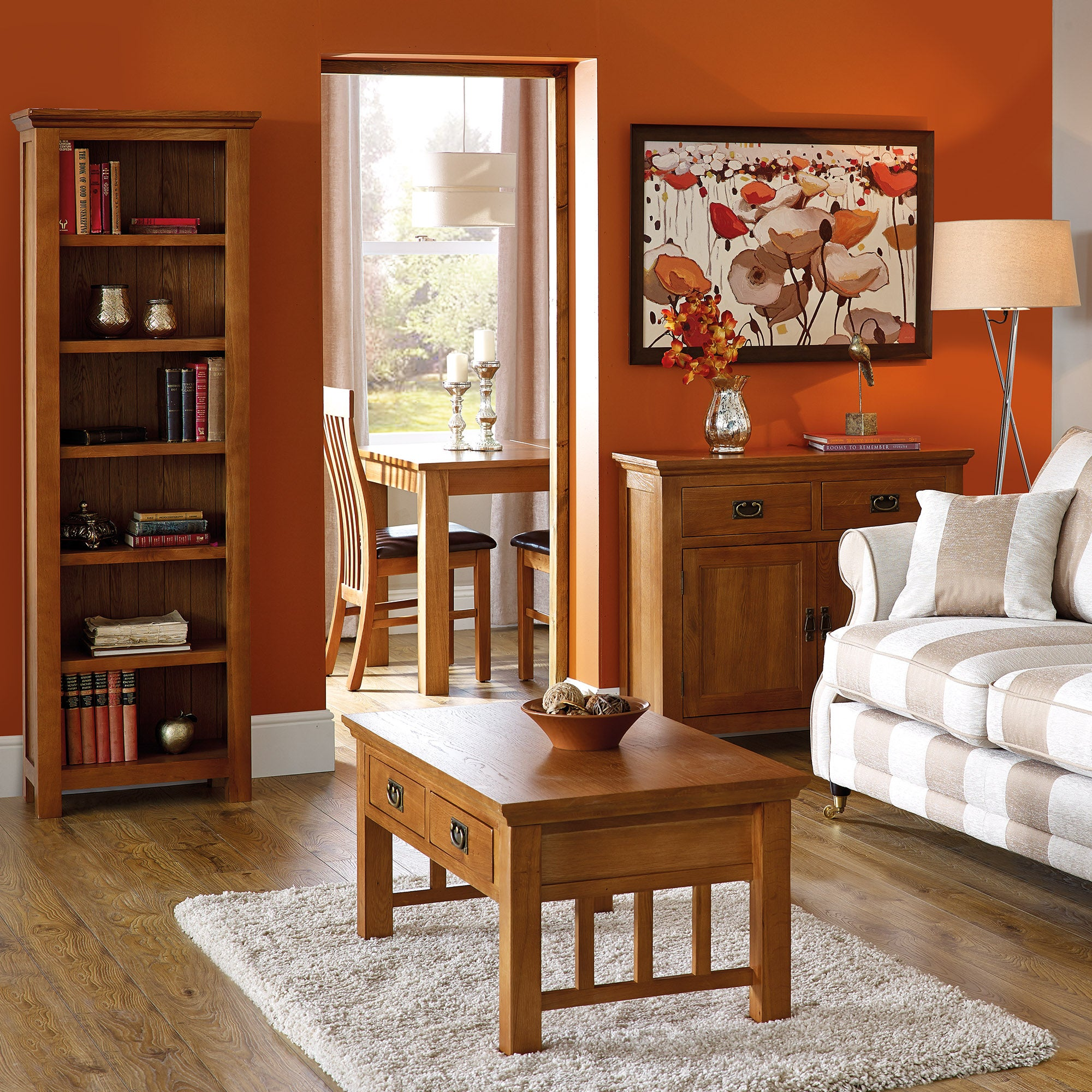 Dorchester Oak Living Room Collection
