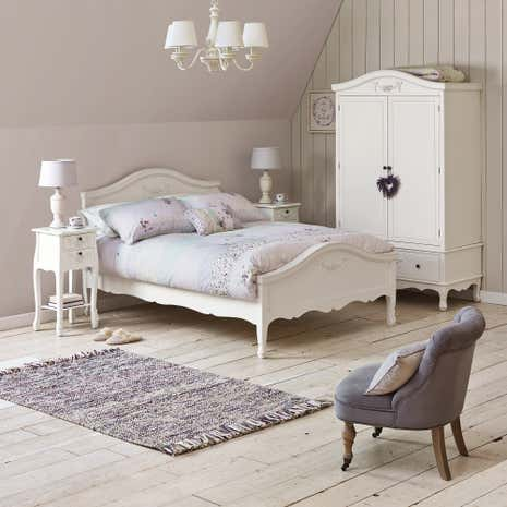 Toulouse White Bedroom Collection Dunelm