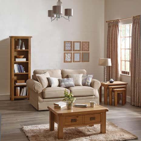 Aylesbury Oak Living Room Collection Dunelm