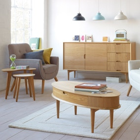 Skandi Oak Living Room Collection