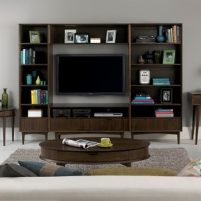 Skandi Walnut Living Room Collection
