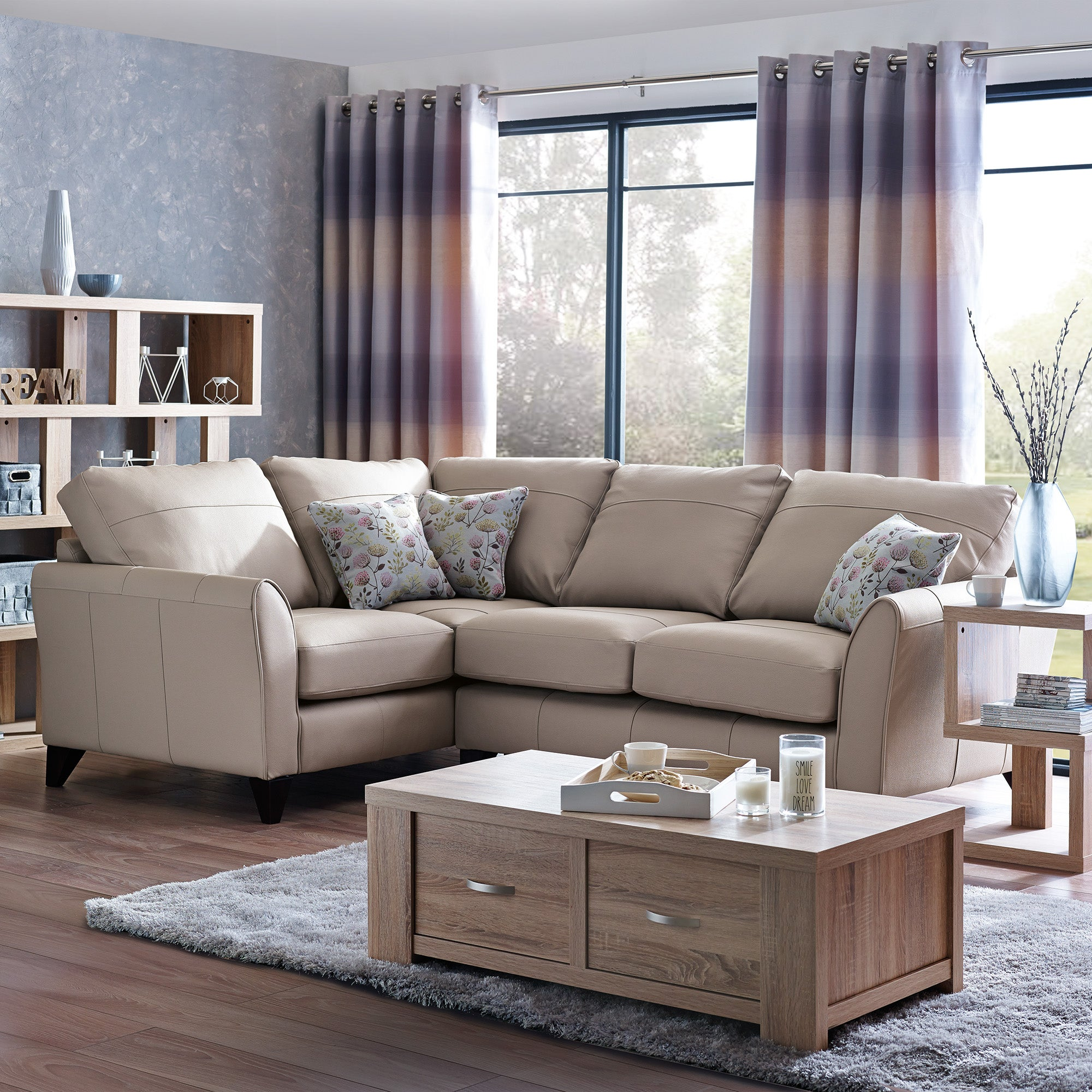 Canterbury Performance Leather Sofa Collection