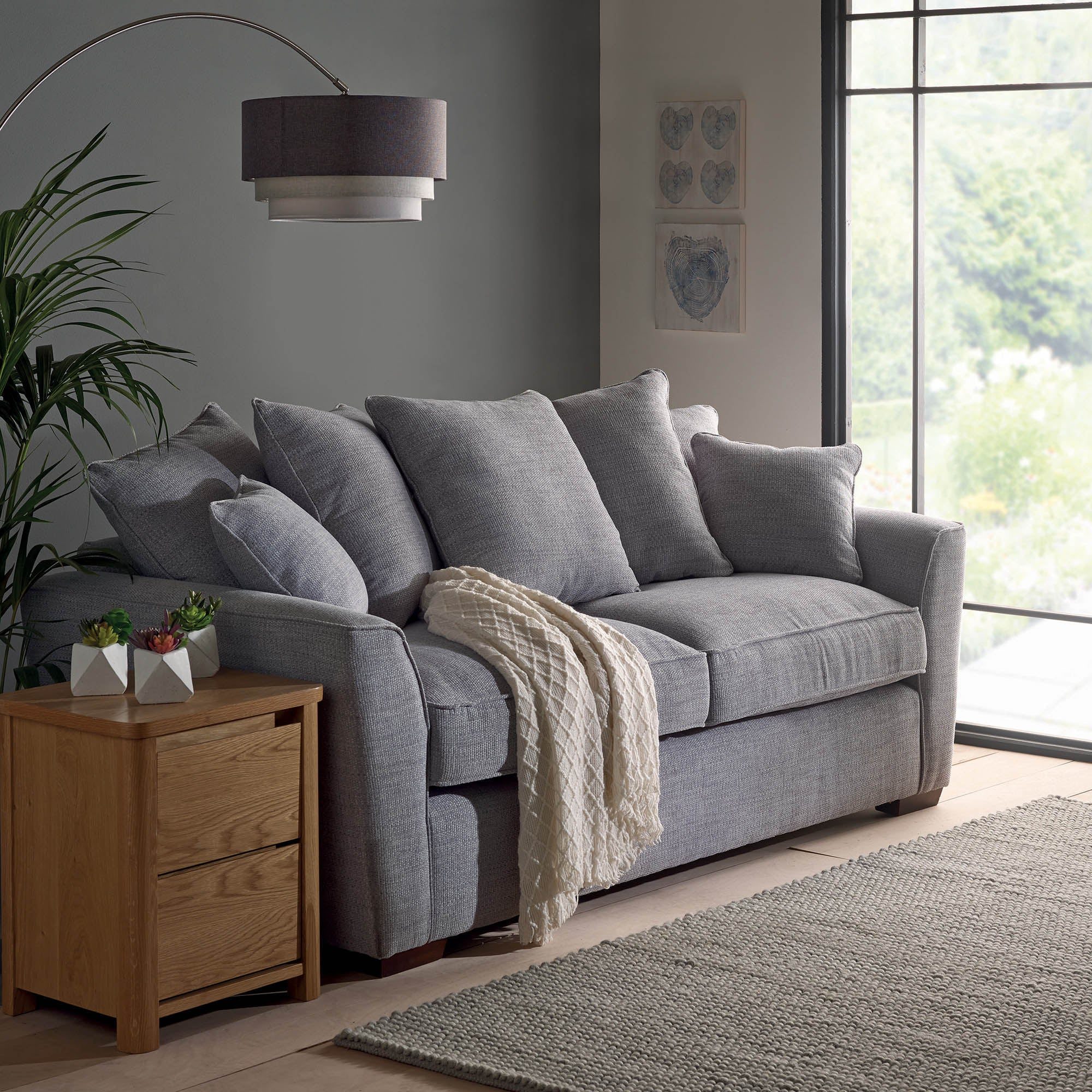 Sofa Throws Dunelm Buy Modern Fern Cushion line Cushions And