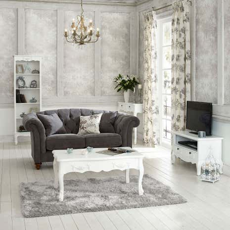 Toulouse White Living Room Collection