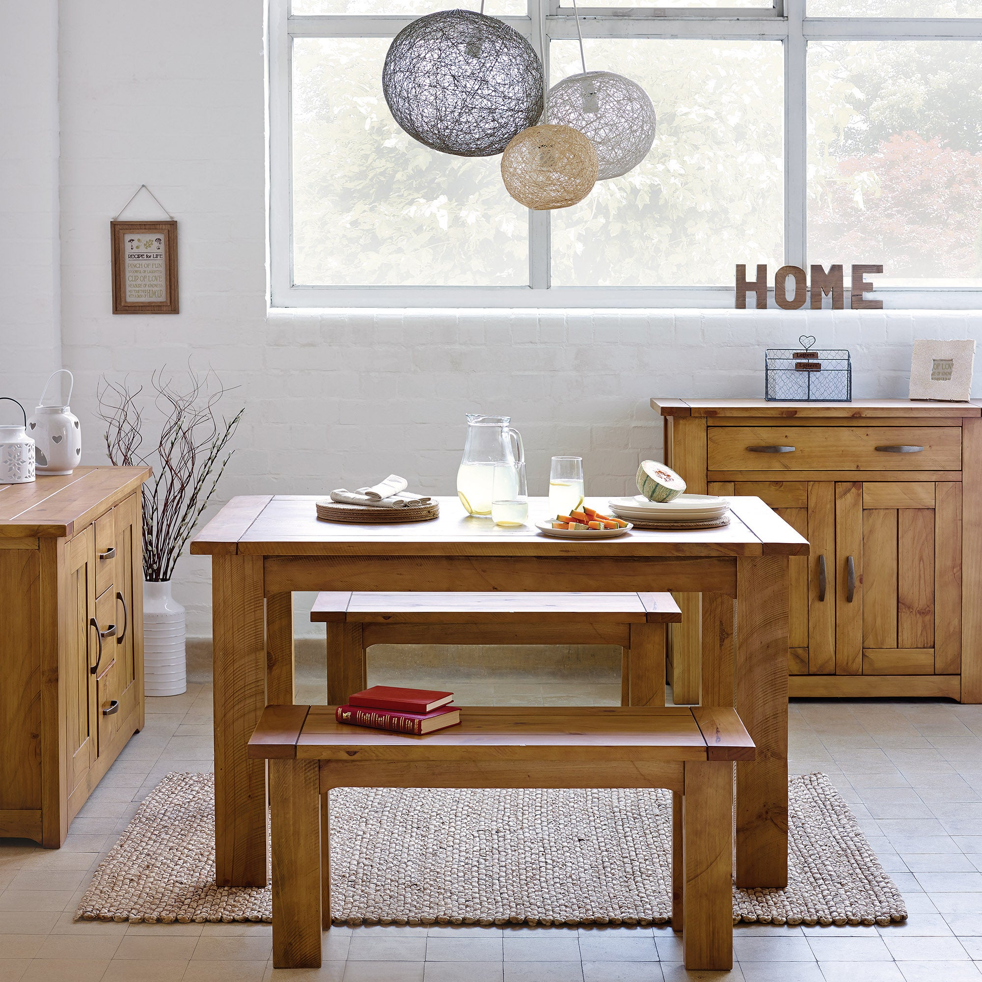 Loxley Pine Dining Room Collection