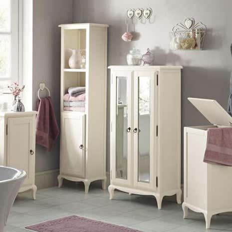 Florence bathroom furniture collection dunelm for Bathroom cabinets dunelm