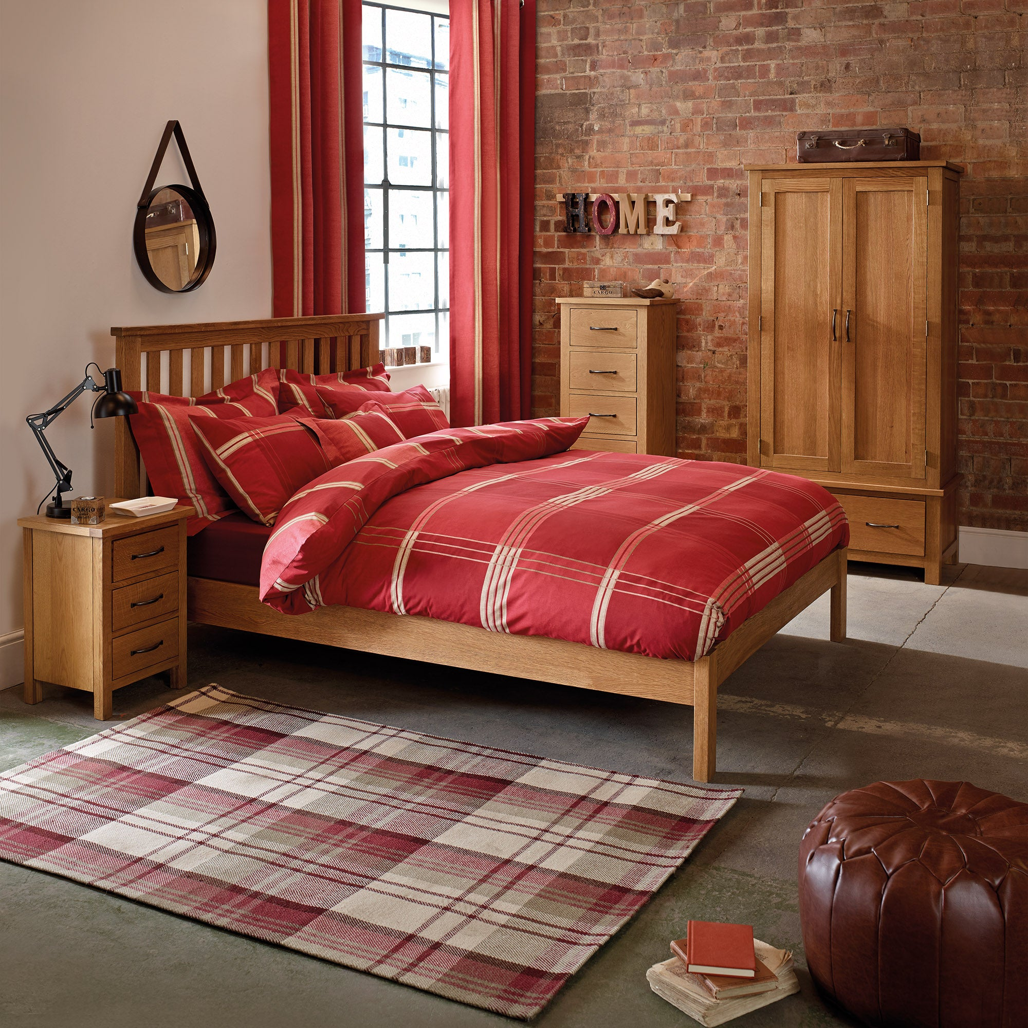 Sidmouth Oak Bedroom Collection