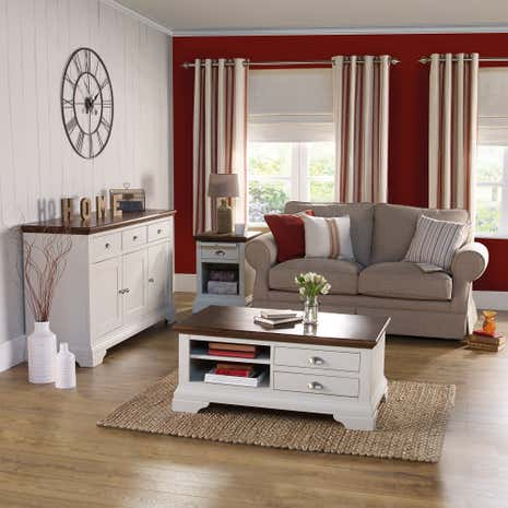 Eaton Soft Grey Living Furniture Collection Dunelm