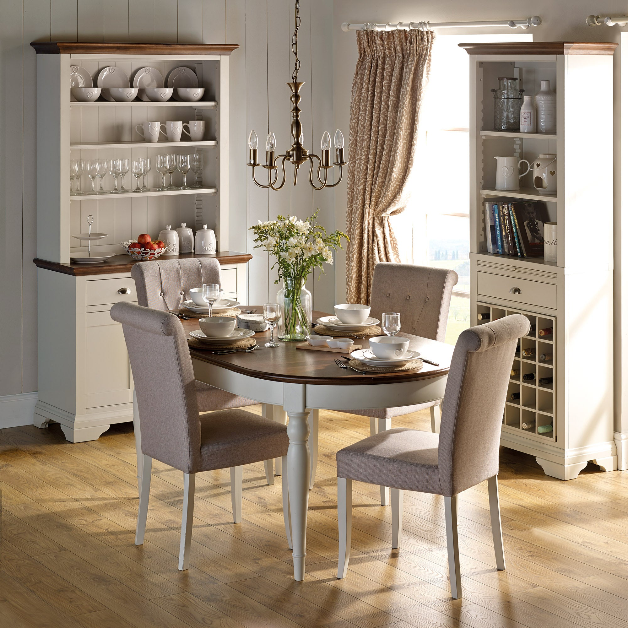 Eaton Walnut Dining Room Collection