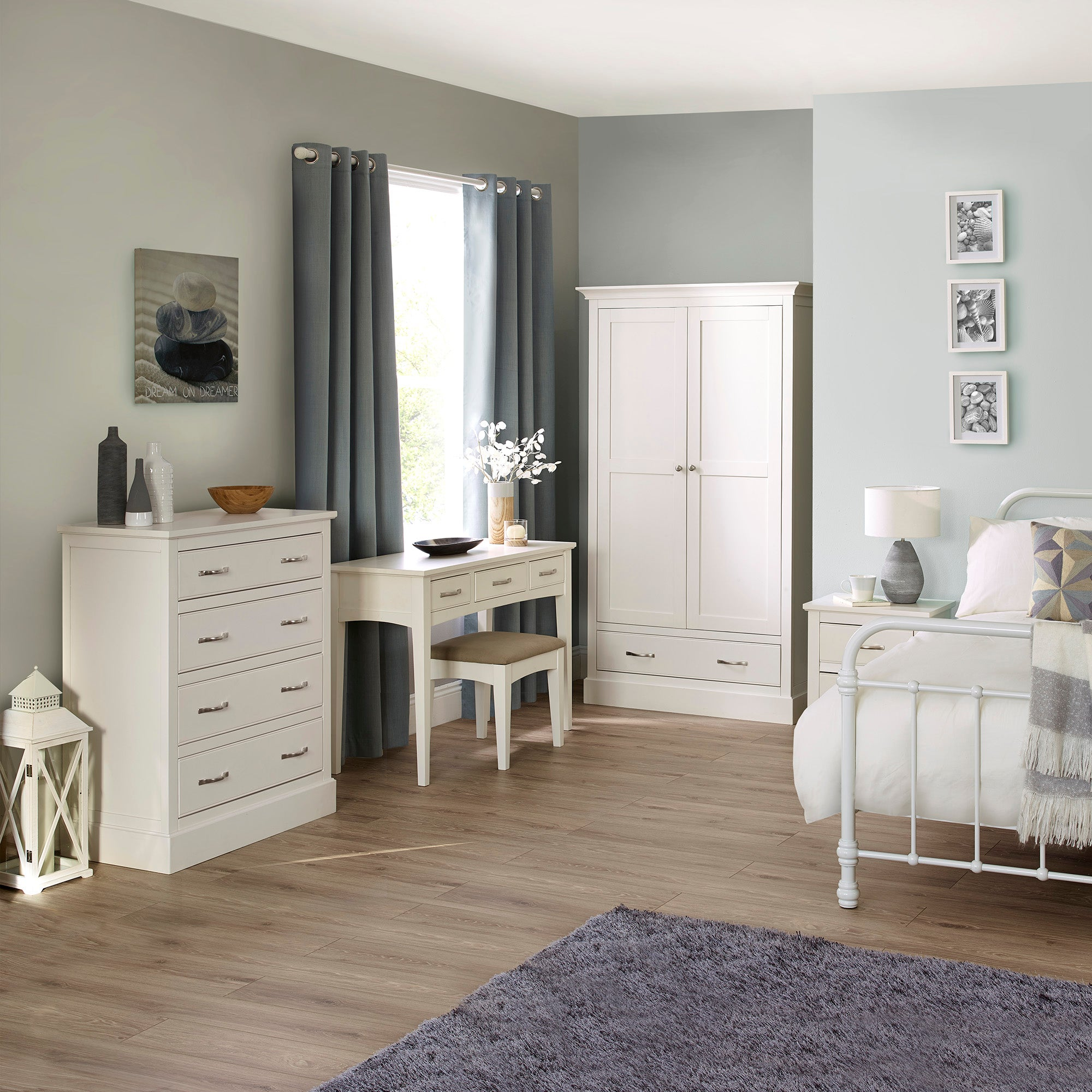 Hemsby White Bedroom Collection