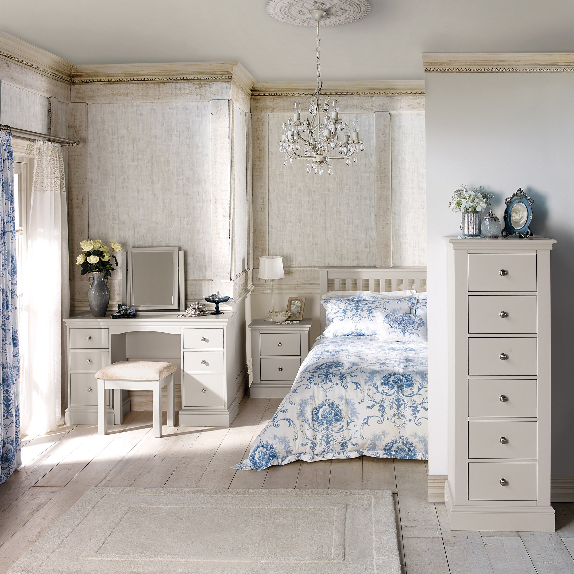 Blakely White Bedroom Furniture Collection