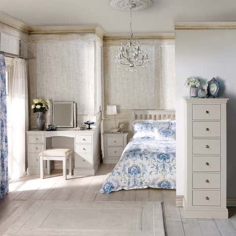 Blakely White Bedroom Collection Dunelm