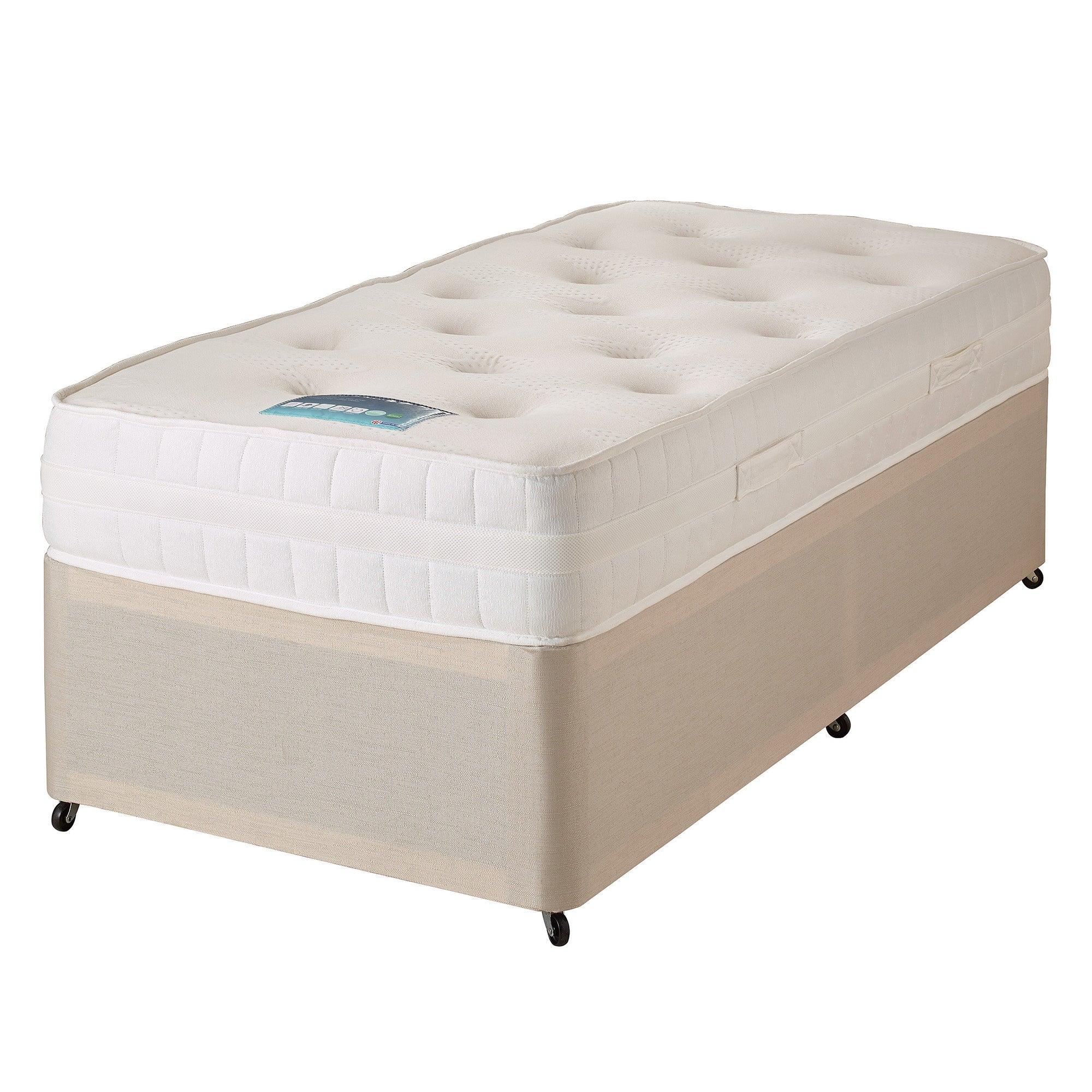 Balmoral memory mattress and divan collection dunelm for Divan bed no mattress