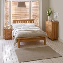 Oakley Oak Bedroom Furniture Collection