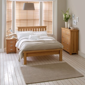 Oak Furniture | Solid Oak Bedroom Furniture | Dunelm