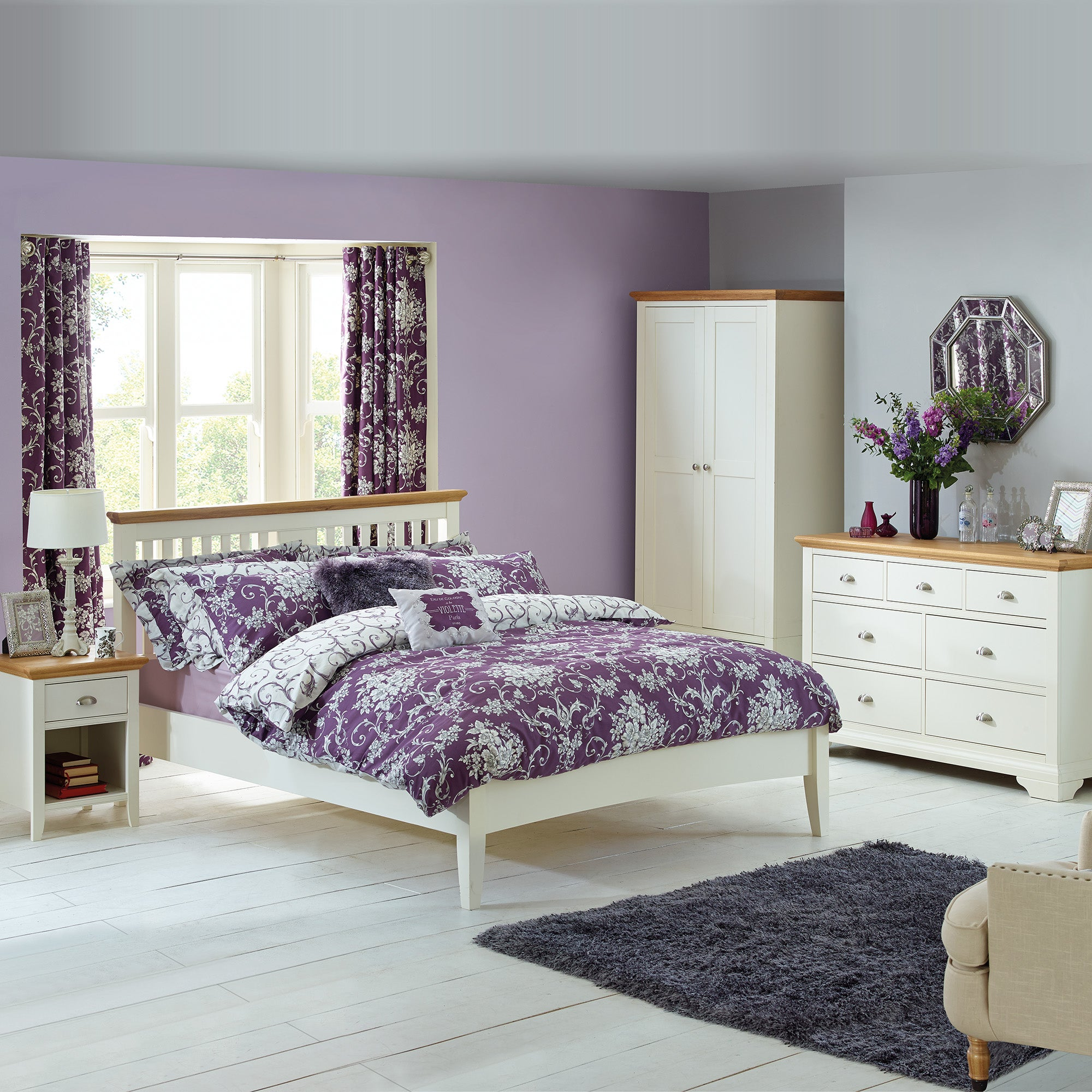 Eaton Cream Bedroom Collection